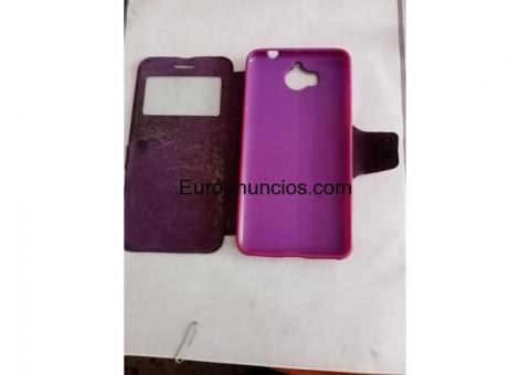 Funda para móvil color rosa