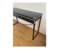 Mueble / escritorio de color negro - 3/4
