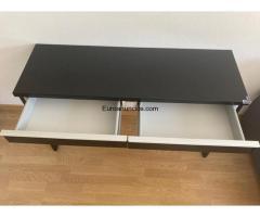 Mueble / escritorio de color negro - 4/4