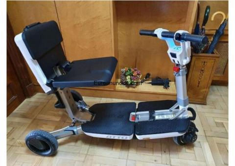 Vendo scooter movilidad reducida