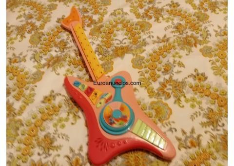 Juguete guitarra para niños