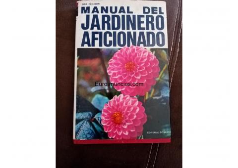 Libro manual del jardinero aficionado